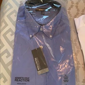 NWT Kenneth Cole Reaction Dress Shirt
